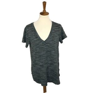 Cloth & Stone Top Tunic Medium Gray